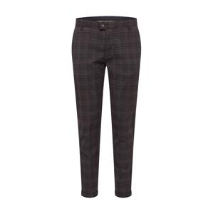 Redefined Rebel Chino kalhoty 'Ercan'  tmavě šedá / hnědá / černá