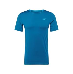 4F Funkční tričko  nebeská modř