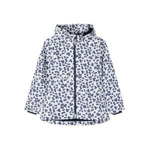 NAME IT Přechodná bunda 'Daisy'  bílá / pitaya / námořnická modř
