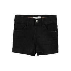 NAME IT Kalhoty 'Salli'  černá džínovina