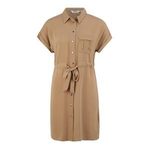 Dorothy Perkins (Petite) Košilové šaty  hnědá