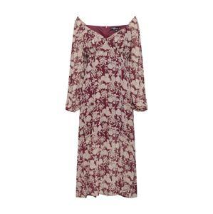 Missguided Letní šaty  bordó / vínově červená / červená