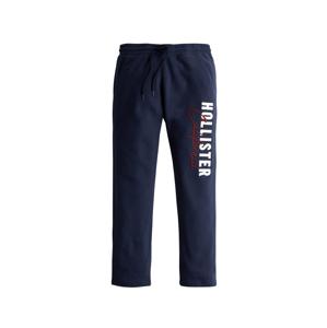 HOLLISTER Kalhoty 'MODERN'  námořnická modř / bílá / červená