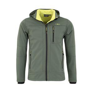 CMP Outdoorová bunda  limetková / olivová