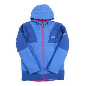 JACK WOLFSKIN Zimní bunda 'SNOWSPORT'  modrá / světlemodrá