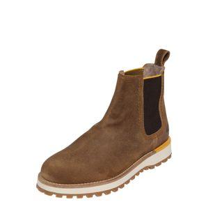 CAMEL ACTIVE Chelsea boty 'Pilgrim'  hnědá / černá / žlutá
