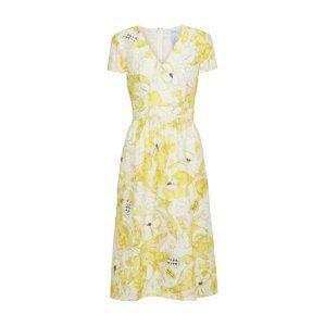 MAX&Co. Koktejlové šaty 'PEPE'  krémová / žlutá