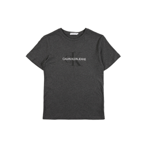 Calvin Klein Jeans Tričko  tmavě šedá / černá / bílá