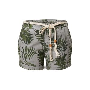 Eight2Nine Kalhoty  zelená / šedá