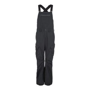 BURTON Sportovní kalhoty 'RESERVE BIB'  tmavě šedá