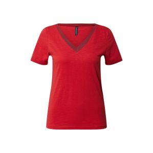 Tranquillo Tričko 'KISHA'  červená