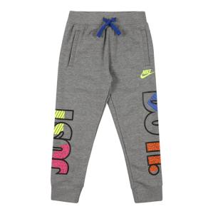 Nike Sportswear Kalhoty  šedá / mix barev