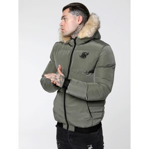 SikSilk Zimní bunda 'siksilk distance jacket'  khaki