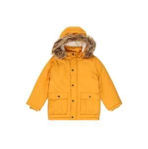 NAME IT Zimní bunda  zlatě žlutá