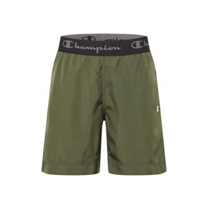 Champion Authentic Athletic Apparel Sportovní kalhoty  olivová