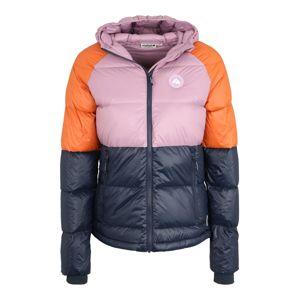 Maloja Outdoorová bunda 'ChampeschM.'  černá / fialová / červená