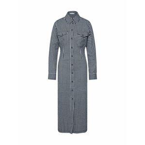 Envii Košilové šaty 'HAZEL'  černá / bílá