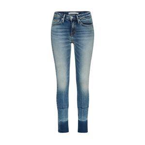 Calvin Klein Jeans Džíny 'CKJ 011 Mid Rise Skinny West Ankle'  modrá džínovina