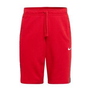 Nike Sportswear Kalhoty 'SWOOSH'  červená