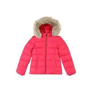 TOMMY HILFIGER Zimní bunda 'ESSENTIAL BASIC'  pink