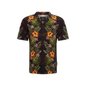 SCOTCH & SODA Košile 'HAWAII '  žlutá / černá / zelená