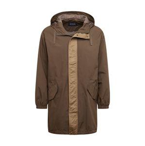 BURTON MENSWEAR LONDON Přechodný kabát 'PANEL'  khaki