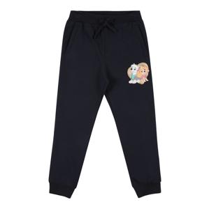 NAME IT Kalhoty  tmavě modrá / světle hnědá / béžová / pink / světlemodrá