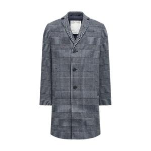 ESPRIT Přechodný kabát  tmavě modrá / šedá