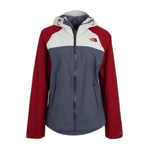 THE NORTH FACE Outdoorová bunda 'Stratos'  chladná modrá / červená / bílá