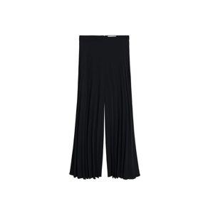 MANGO Harémové kalhoty 'agosto'  černá