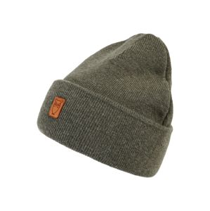 KnowledgeCotton Apparel Čepice 'Beanie organic wool - GOTS'  jedle