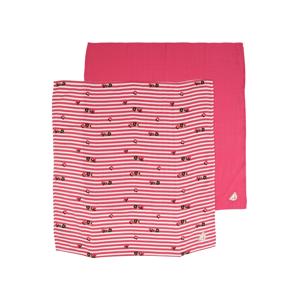 Steiff Collection Dětská deka  pink / bílá