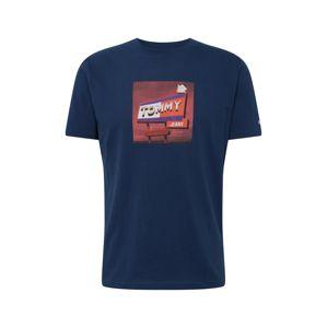 Tommy Jeans Tričko  mix barev / námořnická modř