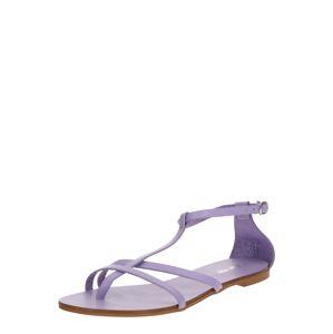 ABOUT YOU Páskové sandály 'Julina'  šeříková