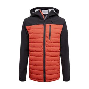 BRUNOTTI Outdoorová bunda 'Vardary'  tmavě modrá / tmavě oranžová