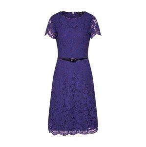 S.Oliver BLACK LABEL Koktejlové šaty  modrá