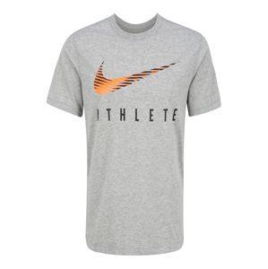 NIKE Funkční tričko 'Dri-FIT'  šedá