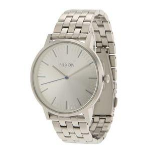 Nixon Analogové hodinky 'Porter'  stříbrná