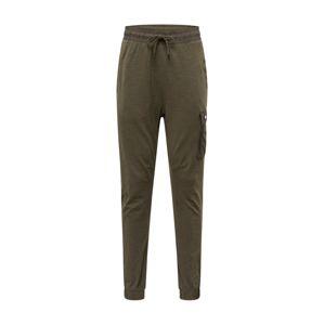 Nike Sportswear Kalhoty  hnědá / olivová