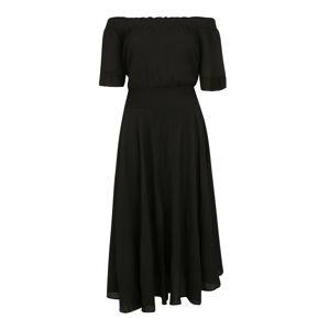 GLAMOROUS CURVE Šaty  černá