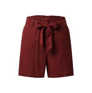 Soyaconcept Kalhoty 'Ina'  tmavě červená