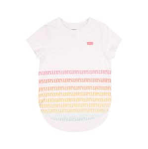LEVI'S Tričko  bílá / červená / žlutá / pink / smaragdová