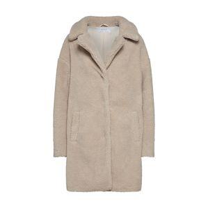 VILA Zimní kabát 'Viplys Teddey'  velbloudí