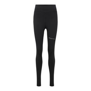 MOROTAI Sportovní kalhoty 'Bloc Performance'  černá / bílá