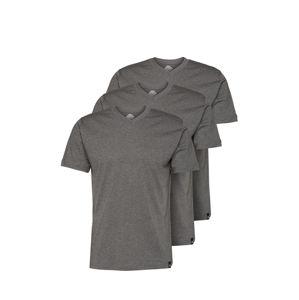 DICKIES Tričko  tmavě šedá / šedý melír