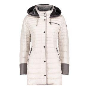 GIL BRET Zimní bunda  grafitová / offwhite