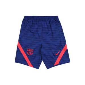 NIKE Sportovní kalhoty  modrá / tmavě modrá / světle červená