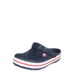 Crocs Pantofle 'Crocband'  tmavě modrá / bílá / červená