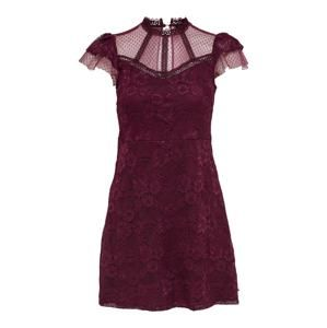 ONLY Šaty  vínově červená