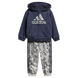 ADIDAS PERFORMANCE Sportovní oblečení  námořnická modř / světle šedá